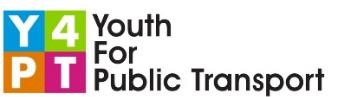 Youth for Public Transport logo