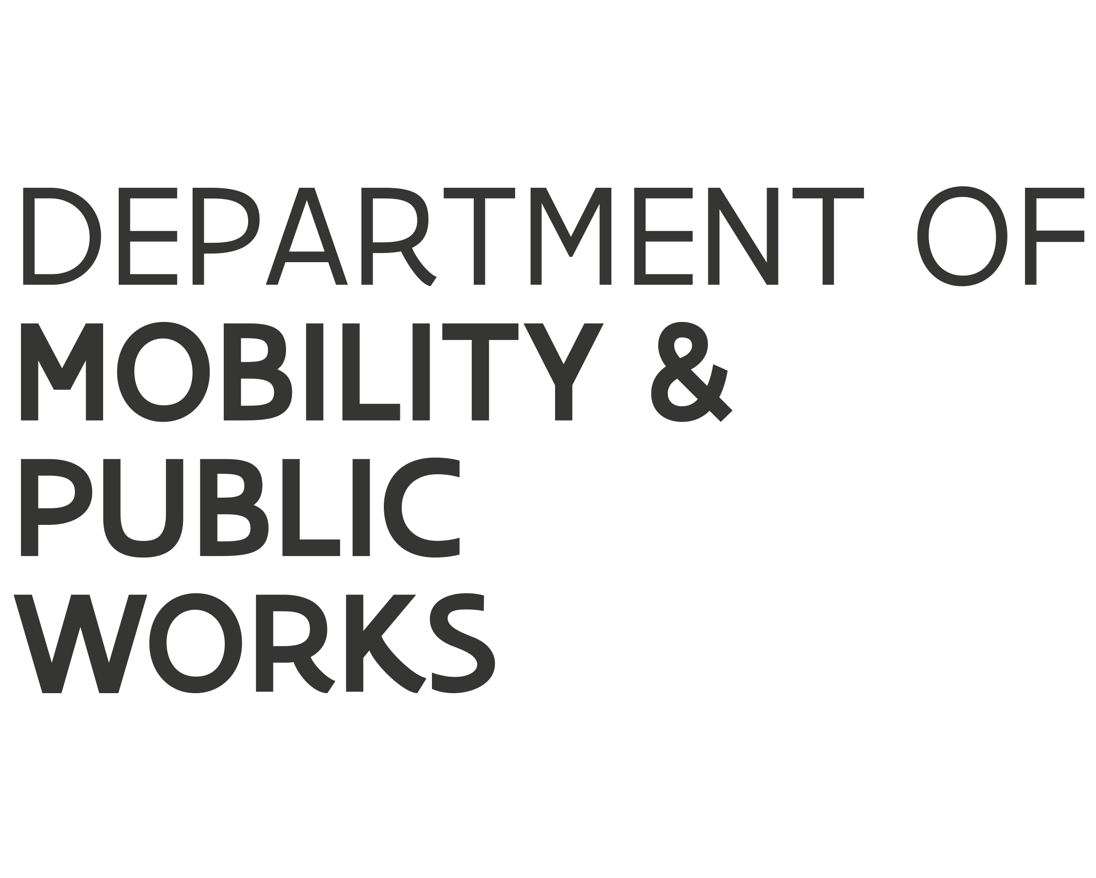 The Flemish Department of Mobility and Public Works logo